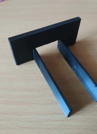шаблон для регулировки фиксатора замка двери, 3д печать пластиком