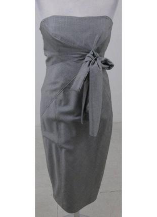 Коктейльне плаття ted baker платье корсет офисное шерсть шелк ...