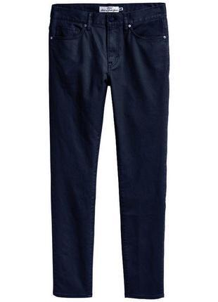 Темно-синие джинсы h&m regular skinny !