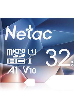 Карта памяти micro SD Netac 32Gb P500 A1 class 10 High speed +++