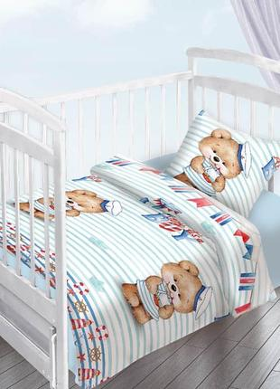 Постельное белье, в кроватку, подростковый, полуторный.