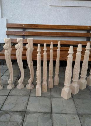 Виготовлення ножок для столу, царги та інше на чпу стан