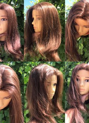 Натуральный реалистичный парик Реми детские славянские волосы