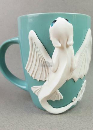 Игрушка кружка дневная фурия (как приручить дракона) чашка лепка