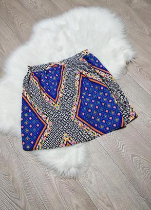 Лёгкая летняя юбка на резинке atmosphere свободная