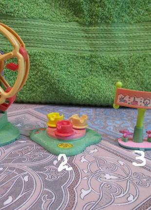 игрушки от наборов Bluebird