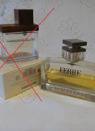Ferre edp gianfranco ferre dior chanel guerlain eau de parfum