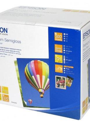Фотобумага EPSON 10х15 Premium Semigloss Photo (C13S042200)