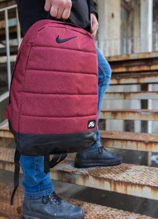 Рюкзак nike air (найк) красный меланж
