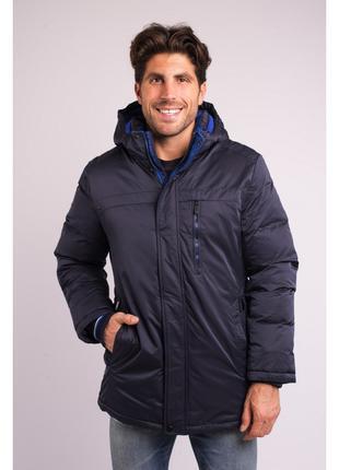 Куртка мужская зимняя Avecs AV-70319 Dark blue Размеры 50 54 56