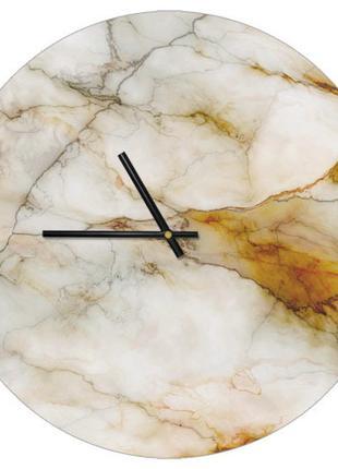 Настенные часы мрамор, диаметр 36 см