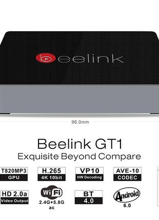 Смарт-приставка Beelink GT1 S912, 32Gb, 8 ядер, гіроскопічна мишк