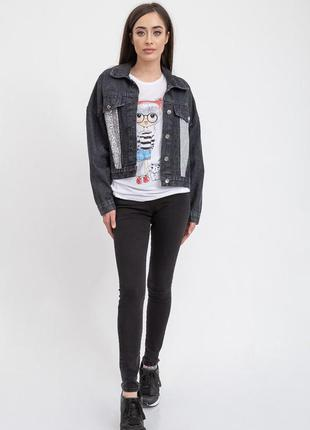 Джинсовая куртка женская