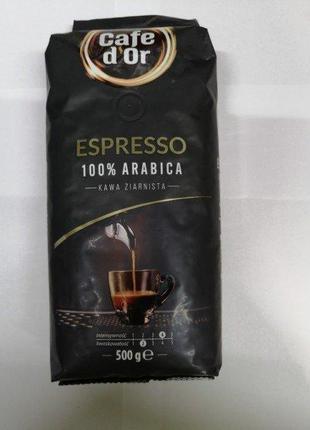 Кофе в зернах Cafe dOr Espresso, 500 г (Польша)