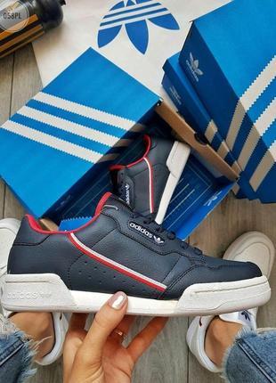 Популярные кроссовки 💪 adidas continental 80/ dark blue 💪