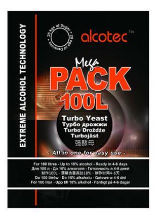 Дрожжи спиртовые ALCOTEC Mega Pack 100L