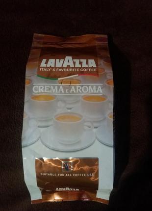 Кофе в зернах Lavazza Crema 1 кг.
