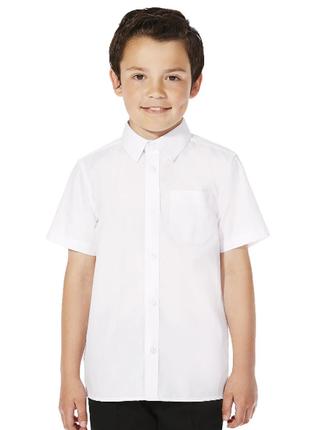 Рубашка новая tu школа мальчик 8 лет (128см) белая