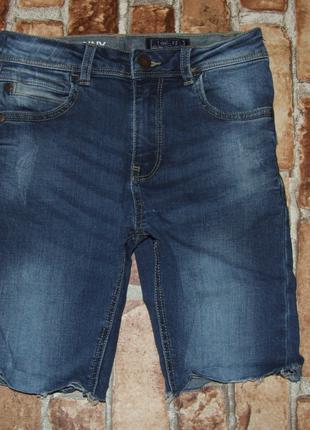Шорты джинсовые бермуды мальчику 8 лет next
