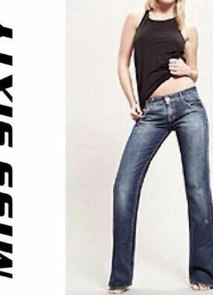 Стильные узкие джинсы miss sixty италия