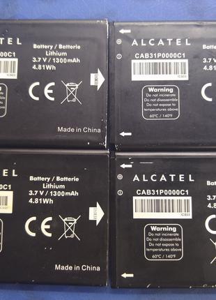 Аккумулятор CAB31P0000C1 для Alcatel One Touch на 1300 mAh Оригин