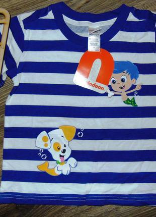 Детская футболка для мальчика nickelodeon