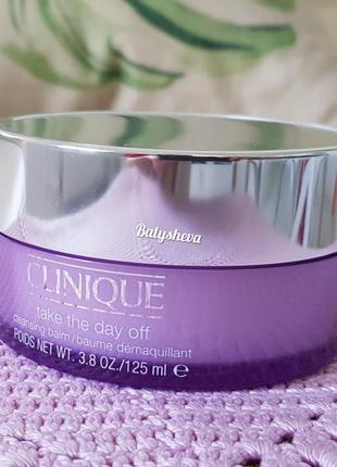 🍁sale🍁clinique take the day off бальзам для снятия макияжа