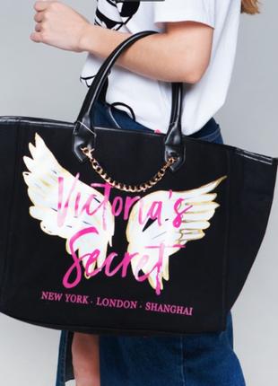 Шикарная сумка виктория сикрет с крыльями ангела