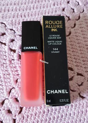 Chanel rouge allure ink жидкая матовая помада
