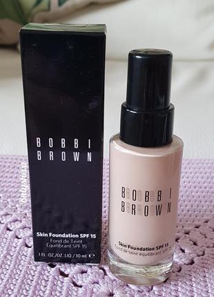 ⭐bobbi brown skin foundation spf15 тональное средство