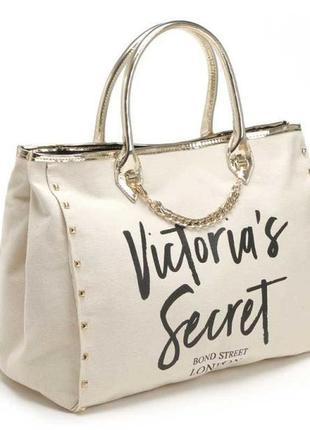 Шикарная сумка виктория сикрет с заклепками