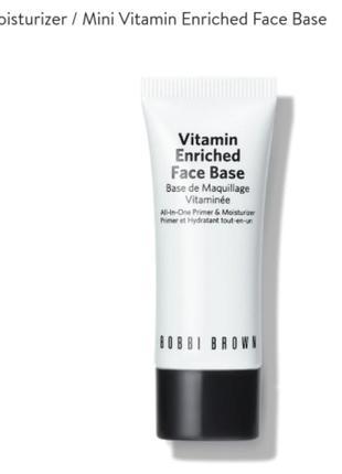 Bobbi brown vitamin enriched face base крем база для лица вита...