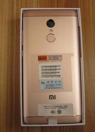 Xiaomi Redmi Note 4X 3-32Gb Pink gold