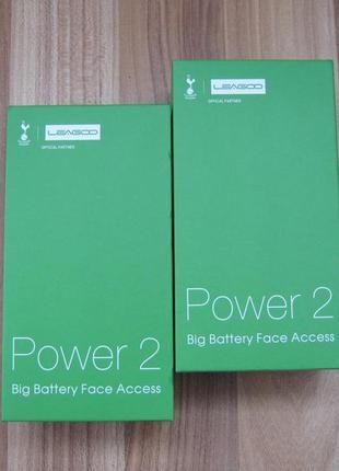 "Leagoo Power 2 2/16GB 5"" 3200mAh Black+Бампер!"