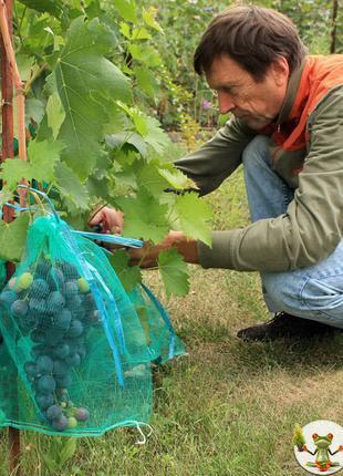 Сетка-мешок для защиты винограда от ос Сетка Мешочки для виноград