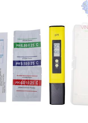 PH-метр для измерения кислотности воды, растворов ПШ метр PH метр