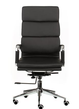 Кресло руководителя офисное Solano 2 artleather black/beige