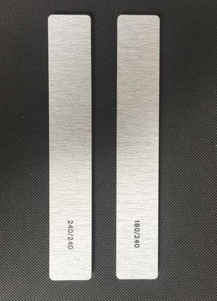 Пилочка для ногтей серая прямоугольник