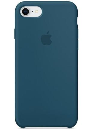 Silicone Case iPhone 7/8/SE (Cosmos Blue)