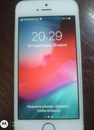 IPhone 5S A1533 16ГБ LTE оригинал из СШАНеверлок !ID (icloud)чист