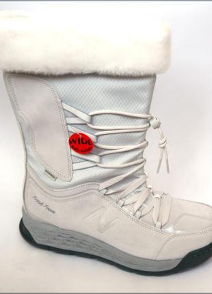 New balance 1000 зимние белые сапоги сапожки оригинал 41.5 42