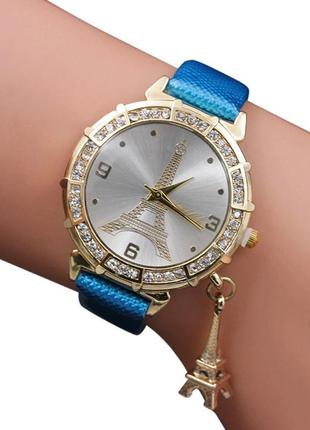 Часы наручные женские голубые