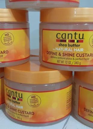 Кустард и гель -Custard- Define&Shine, Cantu Twist&Lock! Ориги...