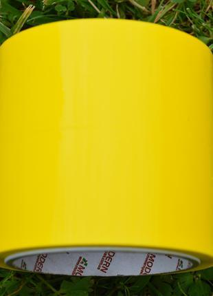 Скотч жовтий 55м, 43 мкм товщина