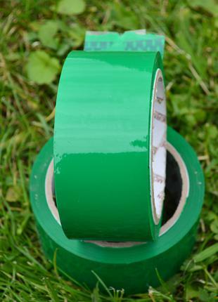 Скотч зелений 55м, 43 мкм товщина