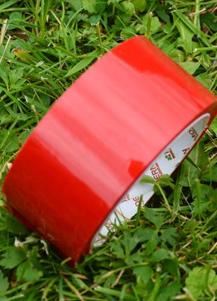 Скотч червоний 55м, 43 мкм