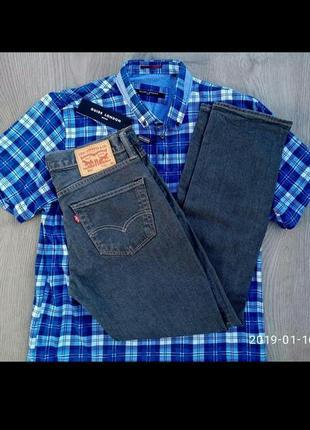Мужские джинсы \ штаны  левайсы levi strauss & co 511  w28  l32