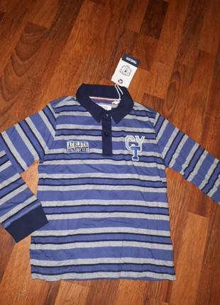 Трикотажная рубашка поло chicco 122