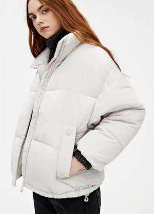 Зимние женские куртки pull&bear испания