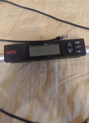 Дисплей питания APC symmetra power view rm display
